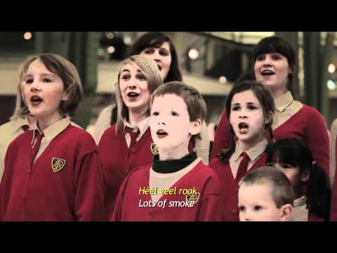 Children s choir starts bullying in a shopping mall