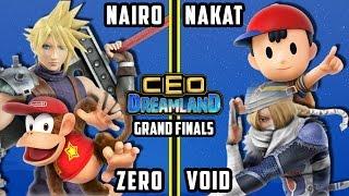 CEO Dreamland 2017 Smash 4 - CLG | Nakat & CLG | VoiD Vs. TSM | ZeRo & NRG | Nairo SSB4 Doubles GF