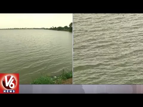 Huge Water Flow To Warangal District Ponds With Heavy Rains | V6 News