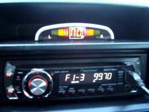 Sensor de Estacionamento no Fiat Siena HLX 1.8