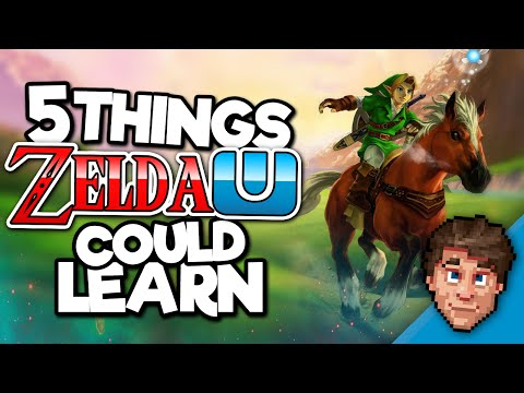 5 Things Zelda U could learn from Ocarina of Time (ft. HMK)