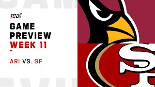 Arizona Cardinals vs San Francisco 49ers Week 11 NFL Game Preview