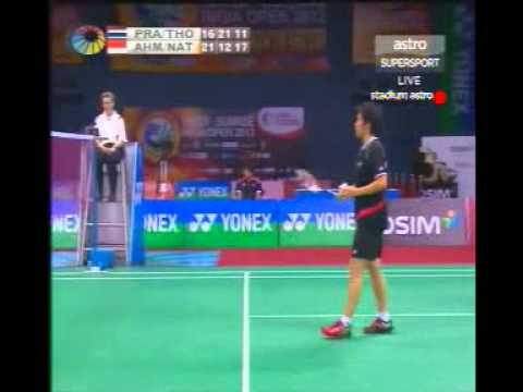 Badminton India Open 2012 Mixed Double Final - Natsir/Tontowi Vs Sudket/Saralee