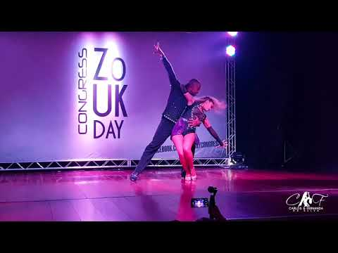 Carlos and Fernanda Brazilian Zouk Show Zouk day