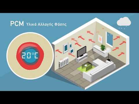 KRAFT Paints - Energy Save Interior (Greek video)