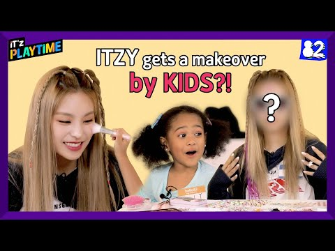 Download Lagu (CC) 👑ITZY Getting a Makeover by KIDS Will SURPRISE You!   IT'z PLAYTIME EP.3.mp3