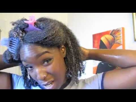 NATURAL HAIR : DEEP CONDITIONING & PRE POOING WITH LEKAIR CHOLESTEROL