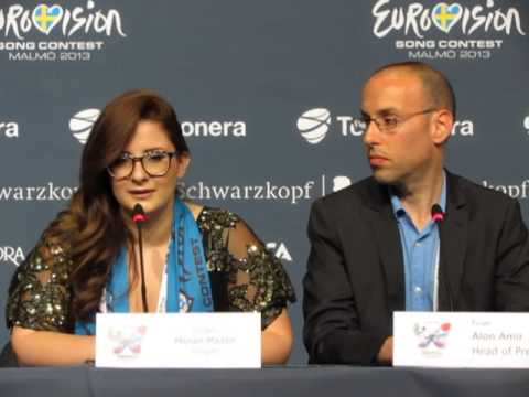 ESCKAZ live in Malmö: Moran Mazor (Israel) press-conference
