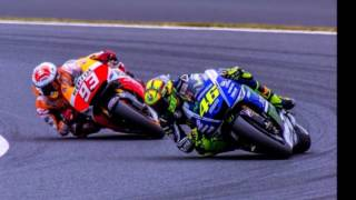 WOW..... MotoGP 2015 Valencia final race   amazing race Rossi