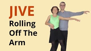 How to Dance Basic Jive | Rolling Off The Arm