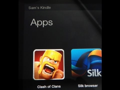 Install Clash of Clans to the Kindle Fire, HD, HDX