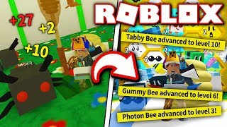 FIGHT ANTS & LEVEL UP YOUR BEES IN NEW UPDATE for BEE SWARM SIMULATOR!! (Roblox)