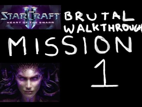 Heart of the Swarm - BRUTAL Walkthrough - Mission 1: Lab Rat