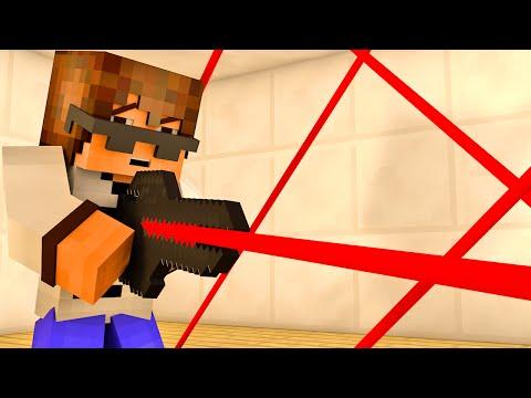 Minecraft как сделать шахтерский лазер