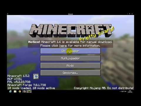 como descargar mo creatures para el minecraft 1.5.2