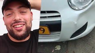 EERSTE BOTSING MET MIJN AUTO- LIFE OF QUCEE#27