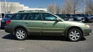 Used 2006 Subaru Legacy Wagon Fort Collins Loveland, CO #K42621