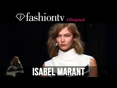 Karlie Kloss at Isabel Marant Fall/Winter 2014-15 | Paris Fashion Week PFW | FashionTV