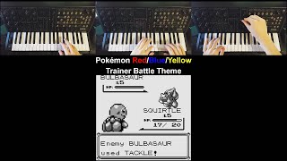 Pokémon Red/Blue/Yellow Trainer Battle Theme on a Korg MS-20