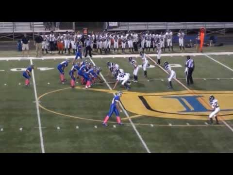 Torin Shanahan W.T. Woodson High School Freshmen Football highlights