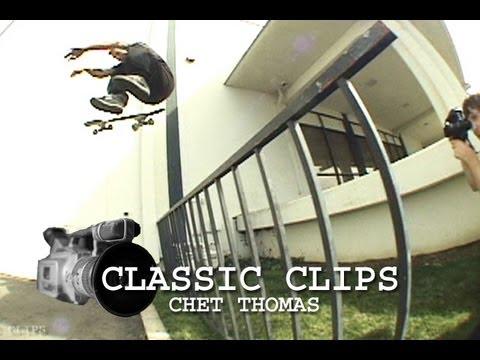 Chet Thomas Skateboarding Classic Clips #34 Darkstar Skate