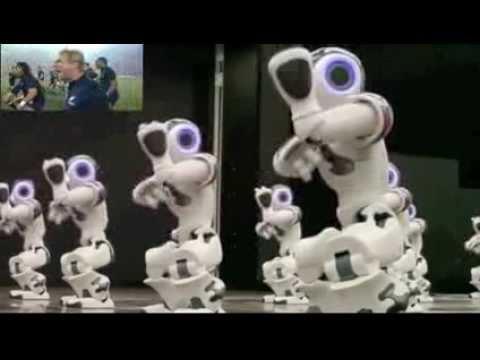 Nao Robots HAKA ))