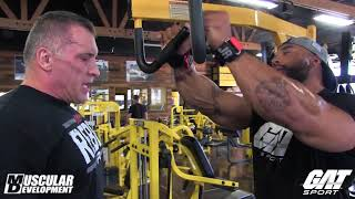 Sergio Oliva Jr. Back Workout | Back to My Roots Ep. 1