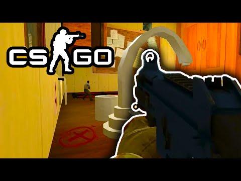 Cs:go Funny Moments - Mw2 Rust, The Golden Knife & Rats! (cs:go Arms Race) video