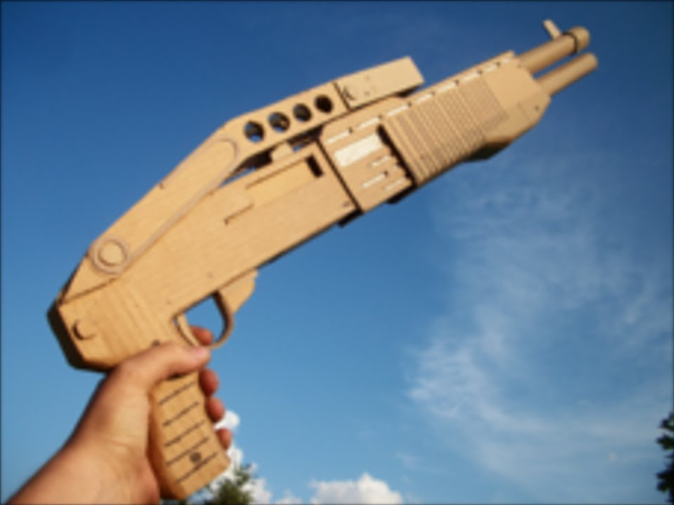 how to make a paper gun that does not shoot