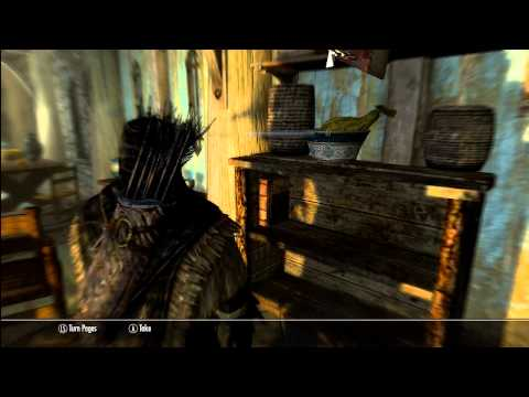 Skyrim Oghma Infinium Glitch AFTER PATCH (XBOX,PS3 July 2012)