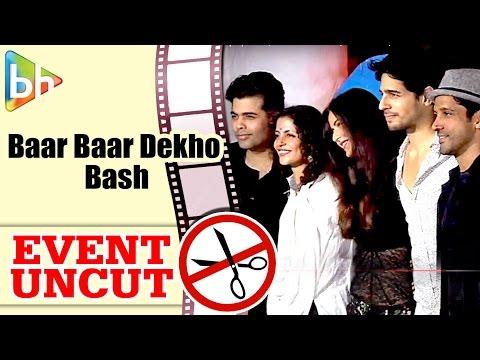 Baar Baar Dekho Wrap Up Bash | Sidharth Malhotra | Katrina Kaif | Farhan Akhtar