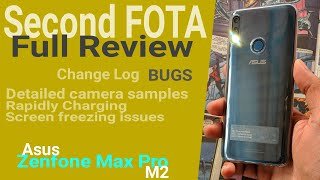 Asus Zenfone Max Pro M2 Second FOTA 134MB Full Review | Features BUGS Changes