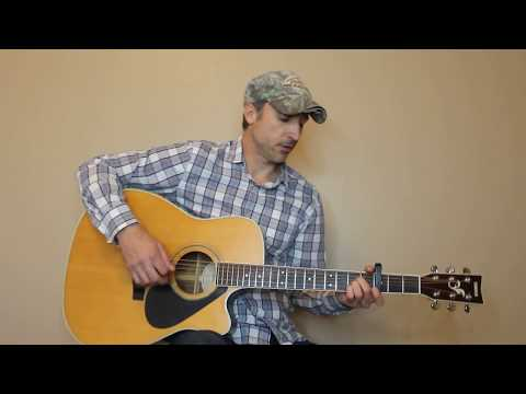 Which One Of Them - Garth Brooks - Guitar Lesson | Tutorial