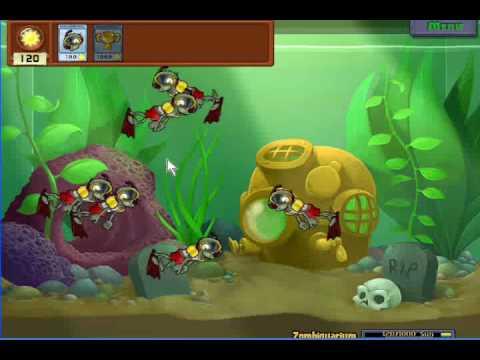 Plantas Vs Zombies: Zombiquarium