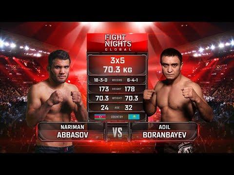 Nariman Abbasov vs. Adil Boranbayev / Нариман Аббасов vs. Адиль Боранбаев