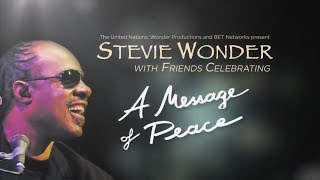 Stevie Wonder ~ As (Live) United Nations Concert Of Peace 2012