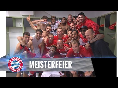 So feiern die Bayern in Ingolstadt
