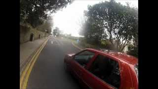 17 01 2013 Kings Weston Lane MGIF and then abuse from driver and passenger V150HTR