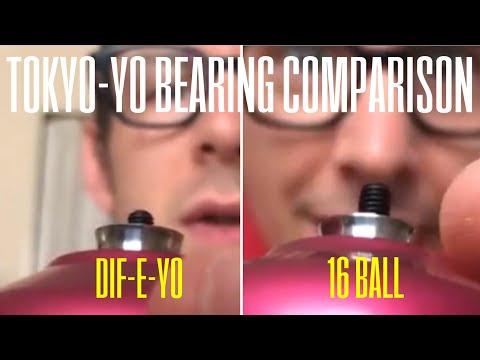 TokYo-Yo Reviews: Dif-E-Yo and 16 Ball Yoyo Bearing comparison