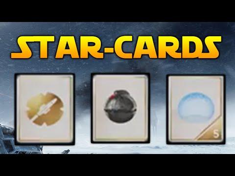Star Wars Battlefront: How Star Cards & Power-Ups Works!