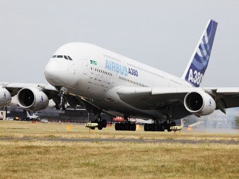 The Super Jumbo Airbus A380 Blows off the dust...
