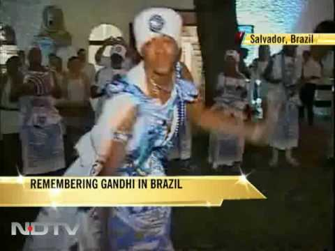 Remembering Mahatma Gandhi in Brazil