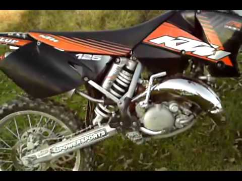 this is a short video of my 2003 KTM 125 sx. I traded my 2006 CRF 230 for