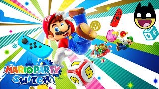 SUPER MARIO PARTY Switch - Mario Cartoons Video Games for Children #1