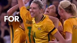 #GetOnside for Australia's FIFA Women's World Cup 2023™ Bid