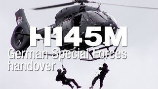 First H145M delivered to the German Special Forces
