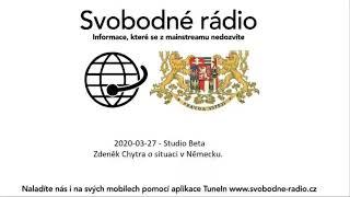 2020-03-27 - Studio Beta -  Zdeněk Chytra o situaci v Německu.