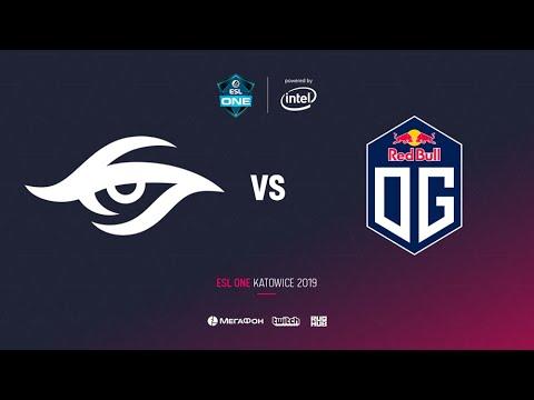 Team Secret vs OG, ESL One Katowice 2019, bo2, game 1[Lex & 4ce]