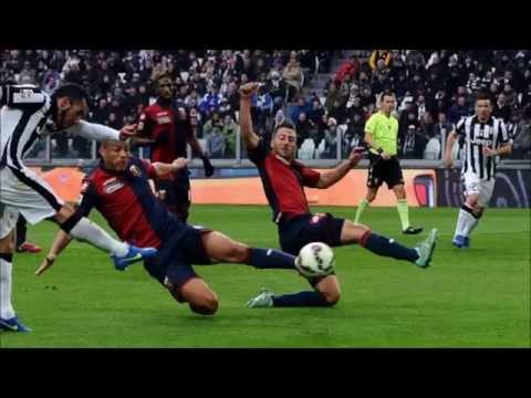 Juventus Genoa 1 - 0 Telecronaca Zuliani Gol Tevez 22/03/2015