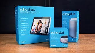 Echo Plus, Echo Dot & Echo Show im Chiller-Unboxing!